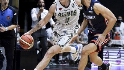 SALVADOS. Lema, uno de los baluartes en la serie por el descenso. Atenas sigue en la Liga Nacional después del triunfo del jueves.