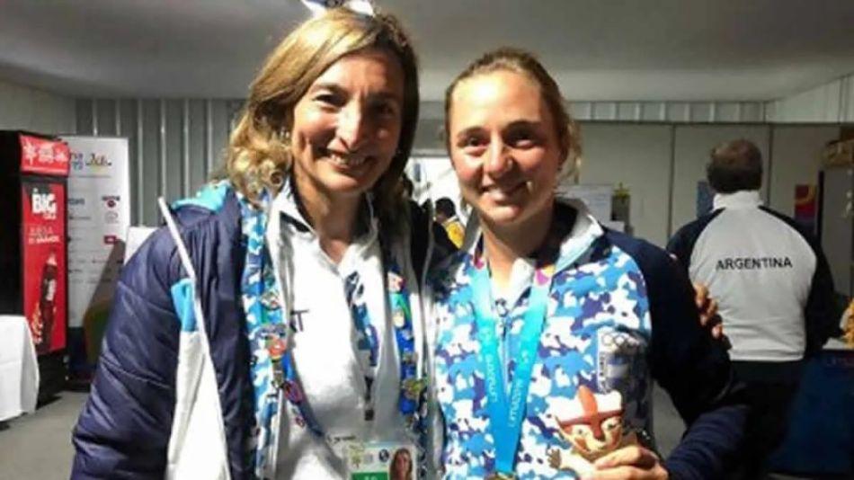 Mercedes Paz y Nadia Podoroska