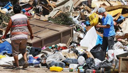 Postales que duelen. El 42% está bajo la línea de la pobreza en la Argentina.