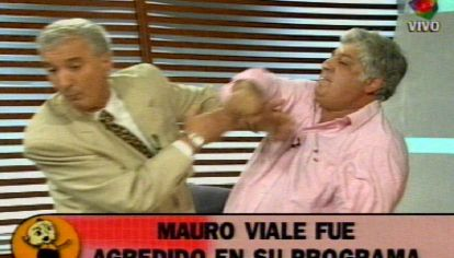 Mauro Viale y su famosa pelea en TV con Samid