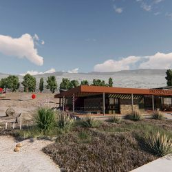 El predio estará ubicado a la vera de la Ruta Nacional 23, en Comallo.