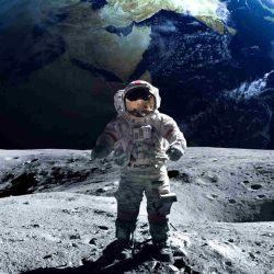 Uno de los grandes accidentes geográficos de la Luna son los cráteres.