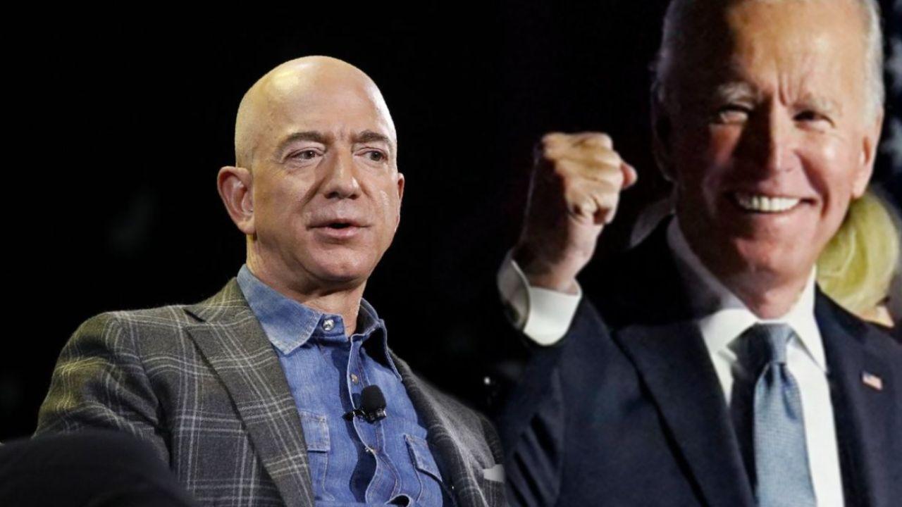 Jeff Bezos se mostró a favor del impusto a las grandes corporaciones.  | Foto:CEDOC