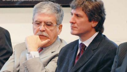 Julio De Vido y Amado Boudou