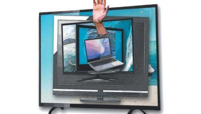 La TV y la cobertura del COVID-19.