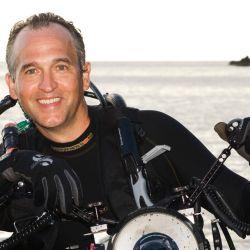 Brian Skerry, fotógrafo de National Geographic especializado en vida marina y ambientes subacuáticos.