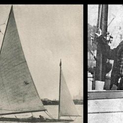 El 13 de abril, Dumas lograba una de sus mayores hazañas en la historia de la navegación mundial.