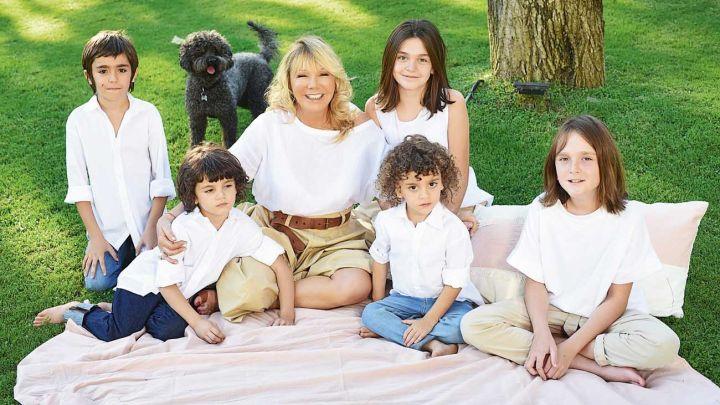 Solita Silveyra presentó a sus cinco nietos y habló de su radical cambio de vida tras el ACV