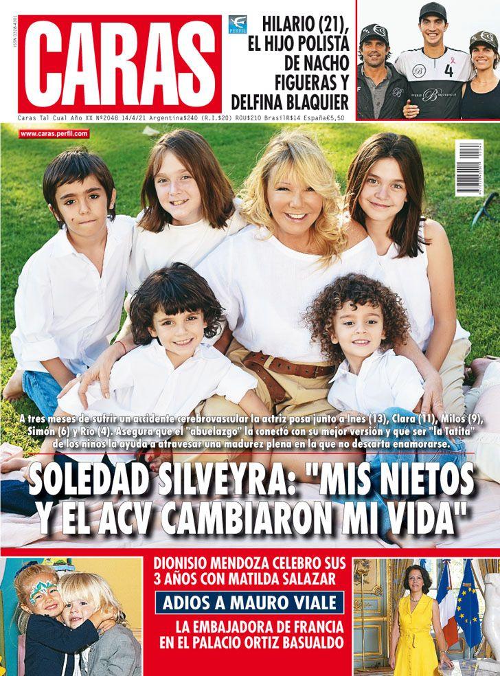 """Soledad Silveyra: """"Mis nietos y el ACV cambiaron mi vida"""""""