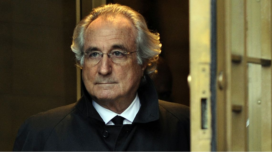 Bernie Madoff — the mastermind behind the worst financial scam in history.