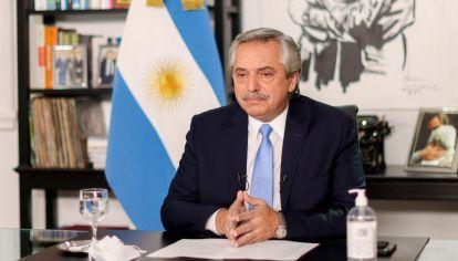 El presidente Alberto Fernández anunció nuevas restricciones.