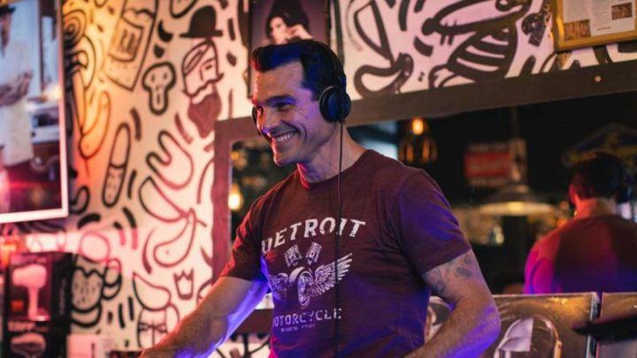 Hernán Drago, en su mejor momento: de DJ a conductor de su propio programa de TV