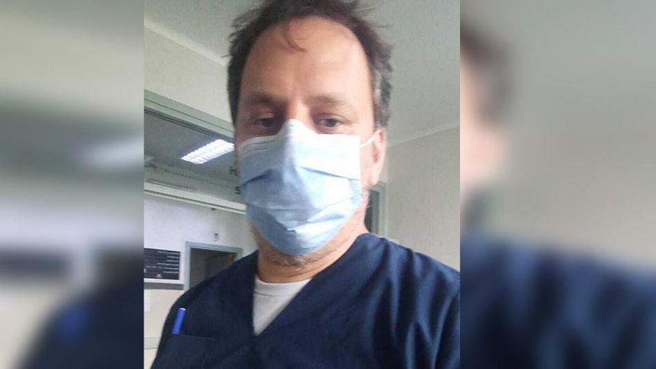 Fernando Rosenzweig, enfermero. 20210414