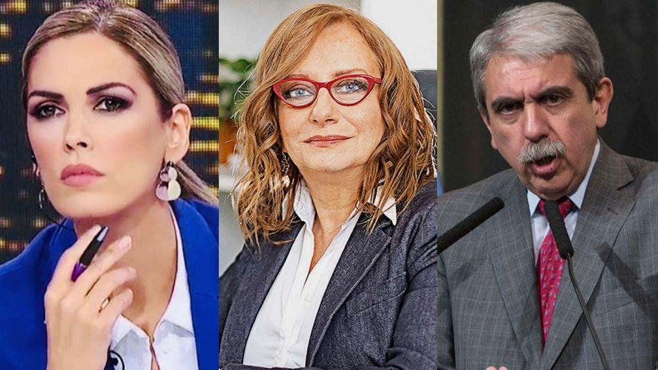 Viviana Canosa, Miriam Lewin y Aníbal Fernández-20210414