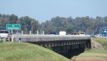 La mujer estuvo secuestrada debajo del puente de la ruta provincial 29, a la altura de Brandsen.