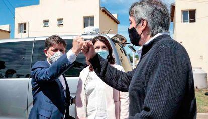 Unidos. Kicillof y Máximo son los dirigentes más escuchados por CFK y ambos piensan en 2023.