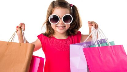 El consumismo a través de los niños