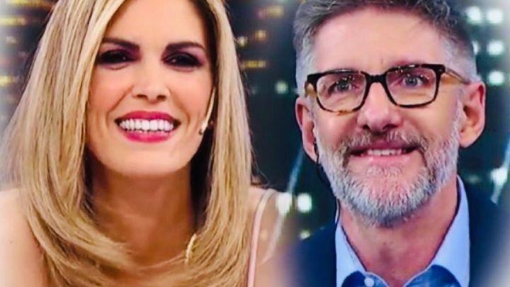 Viviana Canosa le dedicó un emotivo video a Luis Novaresio en la víspera de su cumpleaños