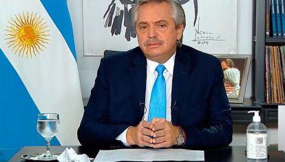 FALLIDO. Alberto Fernández dictó un DNU con restricciones a la que solo se plegaron los gobernadores de Buenos Aires y Catamarca.