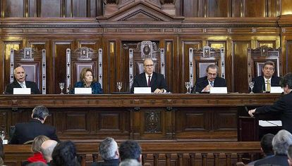 Jueces. Los magistrados no tienen plazos para expedirse.