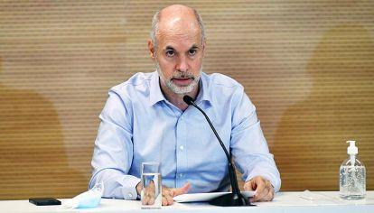 Tono. Rodríguez Larreta replicó la estrategia del jueves, luego de reuniones con su equipo cercano.