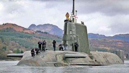 Preseñores. El HMS Astute, uno de los submarinos de última generación sumado por la marina británica.