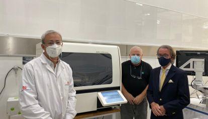 AVANCE. El laboratorio planea incorporar un segundo equipo similar.