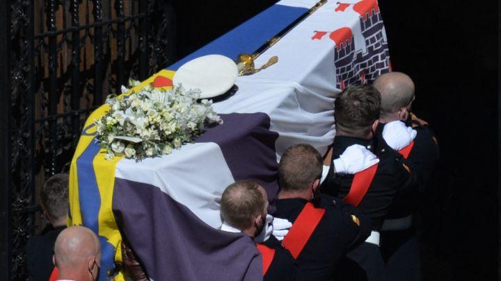 FOTOS | Así fue el último adiós a Felipe de Edimburgo, el marido de la Reina Isabel II