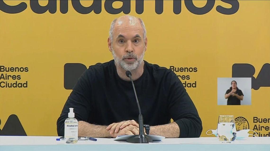 Rodríguez Larreta: Schools in City will have classes tomorrow