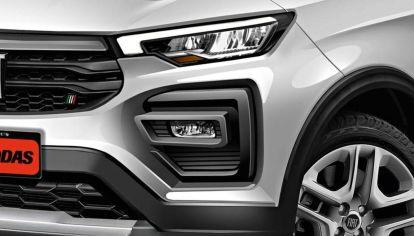 Así sería el diseño final del SUV del Fiat Argo, ¿con interior de Compass?