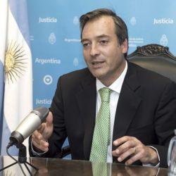 El ministro de Justicia Martín Soria.