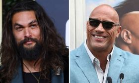 Jason Momoa y Dwayne Johnson