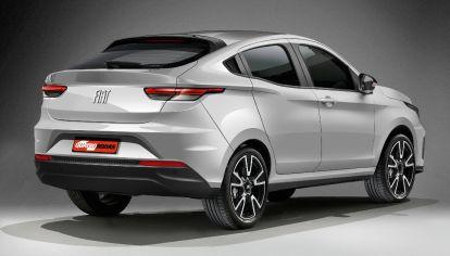 Nuevo SUV coupé de Fiat: base de Argo, competirá en precio con T-Cross