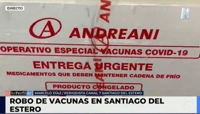"""Según el especialista: """"se robaron vacunas Sputnik-V, Sinopharm y también dosis contra la gripe"""""""
