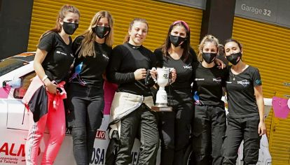 Vitarti Girl's Team: mujeres al volante