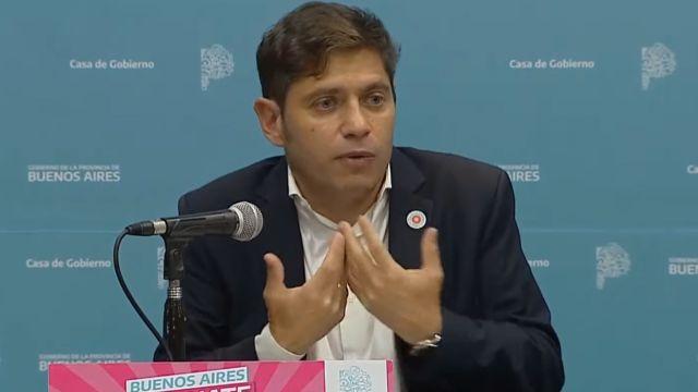 """Axel Kicillof atacó la """"judicialización"""" de las clases presenciales"""