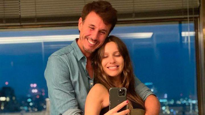 Pampita y Roberto García Moritán celebraron los seis meses de embarazo