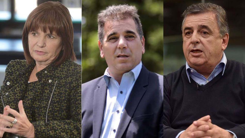 Bullrich, Ritondo y Mario Negri 20210519