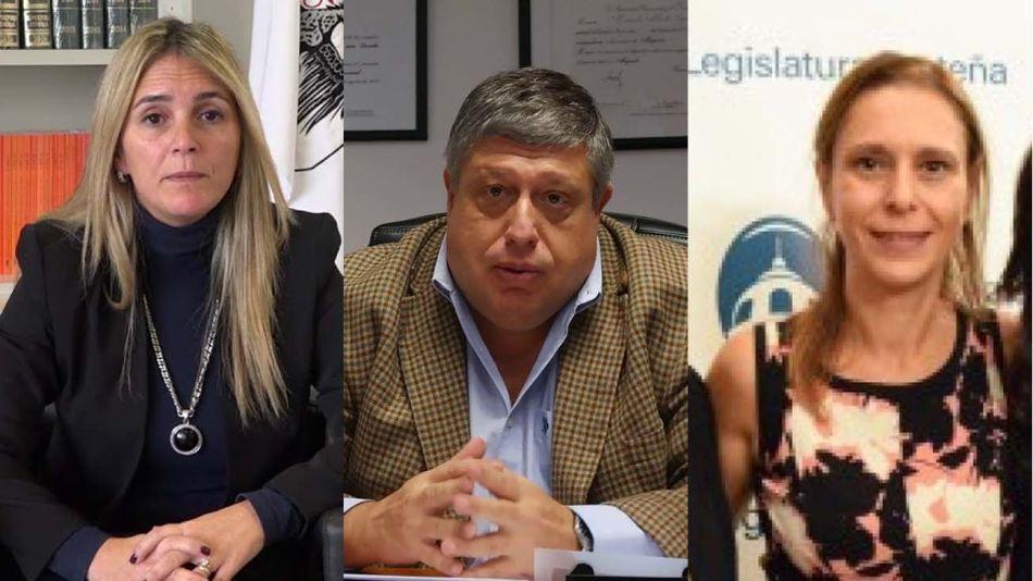 Nieves Machiavelli, Marcelo López Alfonsín y Laura Alejandra Perugini 20210419
