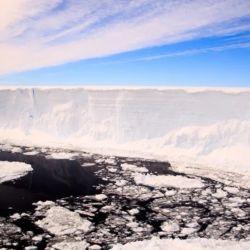 El iceberg A68 se había desprendido de la Antártida en julio de 2017.