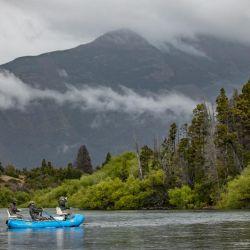 El río Futaleufú está ubicado a tan solo 15 minutos de la homónima localidad chubutense.