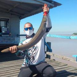 En el río las capturas no suelen superar los 70 cm.
