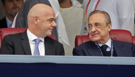 Florentino Pérez y Gianni Infantino