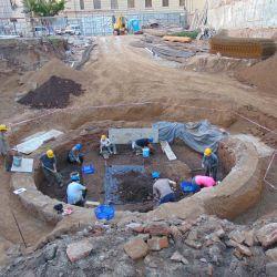 La casona demolida estaba ubicada en Moreno 550, en el barrio porteño de Montserrat.