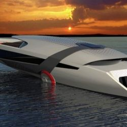 Con respecto a su propulsión, un enorme panel solar se encargará de recolectar energía para cargar las dos baterías de litio que alimentan a la embarcación.
