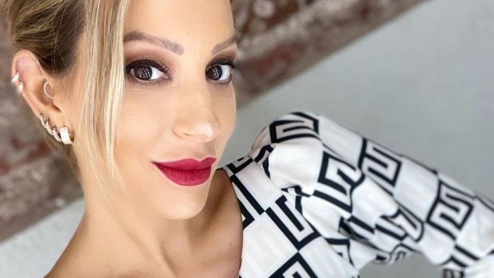 Noelia Marzol posó desnuda a sus siete meses de embarazo