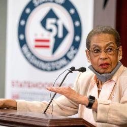 El proyecto de ley fue impulsado por la afroamericana Eleanor Holmes Norton, única representante del Distrito de Columbia.