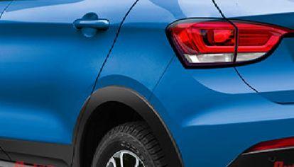 Así sería la parte trasera del SUV del Fiat Argo