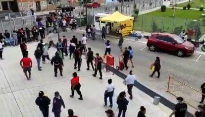 Incidentes en el Ministerio deDesarrollo Caba