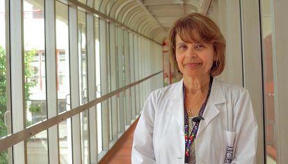 Rosa Bologna Jefa de Epidemiología del Hospital Garrahan
